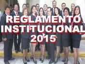 Reglamento Institucional 2015
