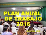 Plan Anual de Trabajo 2016