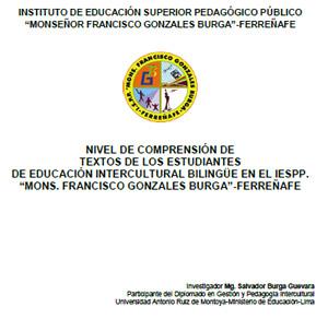 Publicación - Salvador Burga