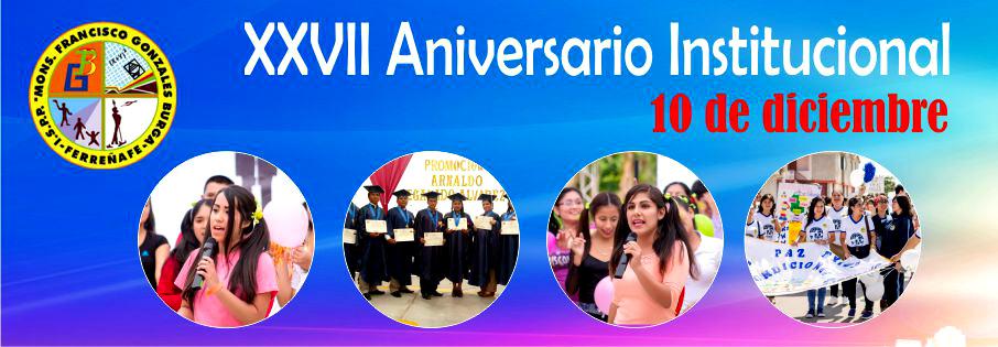 27 Aniversario Institucional